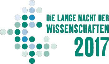 14. LANGE NACHT DER WISSENSCHAFTEN 2017 in Rostock - Logo